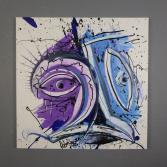 Abstraktes Acrylbild 70x70 (Gonzo V.)