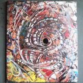 Abstraktes Acrylbild 70x80 (Gonzo V.)