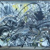 Abstrakte Kunst 80 x 130 (Gonzo V.)