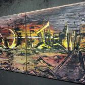 Acrylbild 80x160 (Gonzo V.)