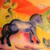 noch ein Blaues Pferd
