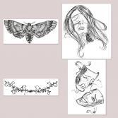 Illustrationen-Reihe-Weisheit-II-5-8