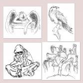 Illustrationen-Reihe-Weisheit-IV-13-16