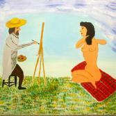Der Maler und sein Model