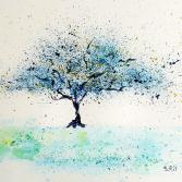 Tree of Life blau