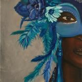 Mardi Gras Blue