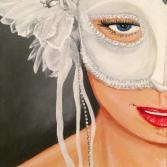 Mardi Gras White