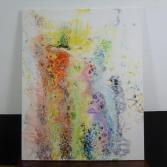 Abstraktes Acrylbild 80x100 (Gonzo V.)