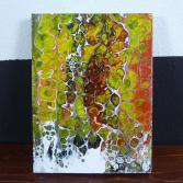 Abstraktes Acrylbild 30x40 (Gonzo V.)