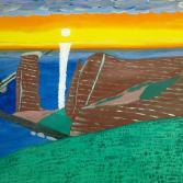 Abendsonne über Helgoland